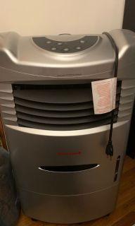 Rarely Used Honeywell Portable Air Cooler Gray/Black