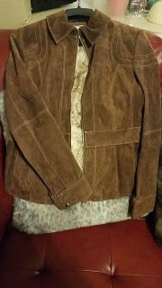 Wilson Leather suede jacket
