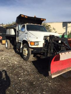 1997 Ford F-Series V Plow and Spreader Caterpillar  3208