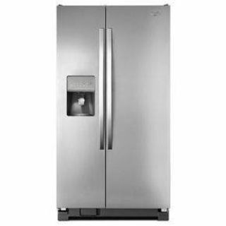 "Whirlpool 36"" Side by Side Refrigerator WRS325FDAD *Closeout*"