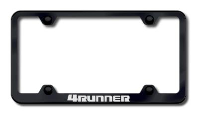 Buy Toyota 4Runner Wide Body Laser Etched License Plate Frame-Black Made in USA Gen motorcycle in San Tan Valley, Arizona, US, for US $34.49