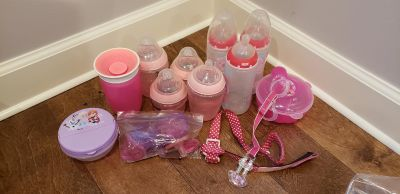 Baby bottle and accessories set (smoke free