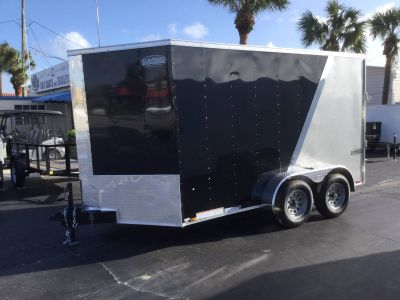 2019 Cargo Express XLW7X12TE2 Motorcycle Cargo Trailers Trailers Fort Pierce, FL