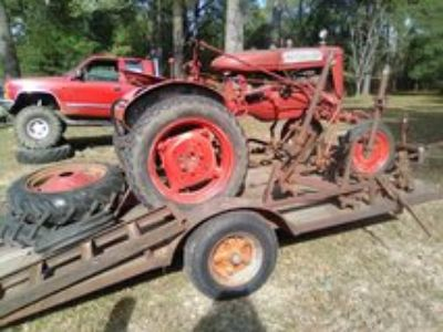 Farmall Tractor with trailer