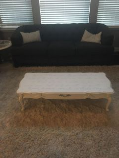 Antique Coffee Table - hand painted