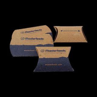 Get Custom Printed Kraft Paper Pillow Boxes