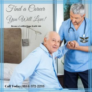 Get Hired quickly, become a Certified Home Health Aide today.