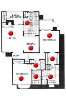 2 bedrooms Apartment - Large & Bright