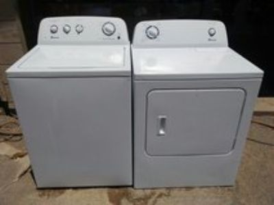 Amana washer and electric dryer set
