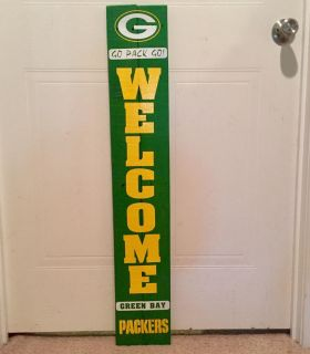 Green Bay Packers Pallet Wood Welcome Sign