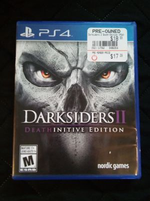 PS4 DarkSiders 2 video game
