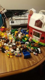 Little People barn accessories and animals