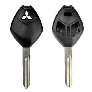 Buy 3 Button Mitsubishi Remote Replacement Key Housing Blank Shell Case Uncut USA motorcycle in Apache Junction, Arizona, US, for US $6.99