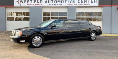 2002 Cadillac Deville Professional Federal Pkg Limousine (Black)