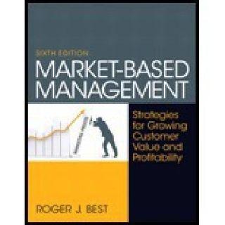 $120 Market-Based Management Book For Sale 6TH 13