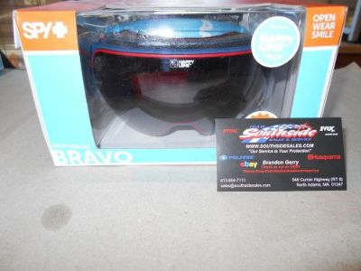 Purchase Spy Bravo Snowmobile Goggle Heritage Navy HBRZw/SMR+HROSw/DBSPEC 313222148291 motorcycle in North Adams, Massachusetts, United States, for US $149.95