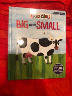 The World Of Eric Carle Big and Small Hardcover Book. Nice Condition