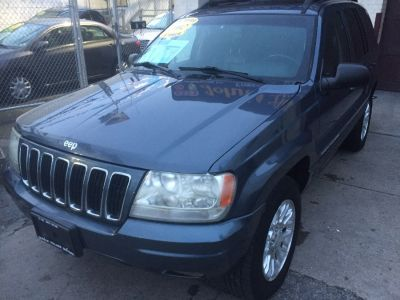 2002 Jeep Grand Cherokee Limited (Patriot Blue Pearl)
