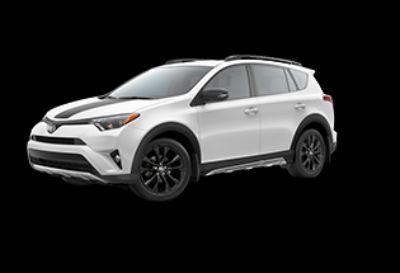 2018 Toyota RAV4 XLE (Super White)