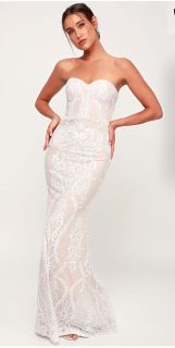 Lace wedding dress *never worn*