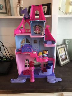 Little People princess doll house