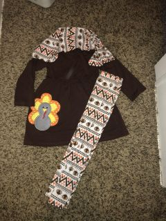 Thanksgiving Turkey boutique outfit NWOT
