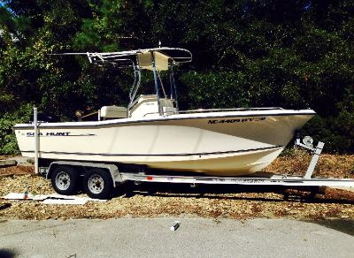 2003 Sea Hunt Trition 212 CLEAN