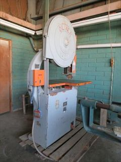"Oliver 217 D 30"" Bandsaw 3 hp Low Usage Machine"