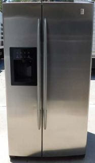 26 CU. FT. GE PROFILE ARCTICA SIDE-BY-SIDE REFRIGERATOR