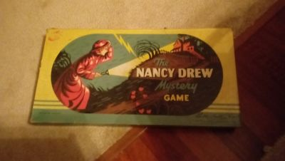 Vintage Nancy Drew Game 1957 and Cherry Aimes game