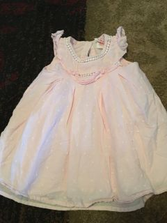 Savannah 6-9m light pink dress - ppu (near old chemstrand & 29) or PU @ the Marcus Pointe Thrift Store (on W st)