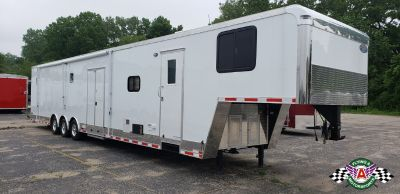 NEW 2017 Continental 48' Race Trailer with Living Quarters