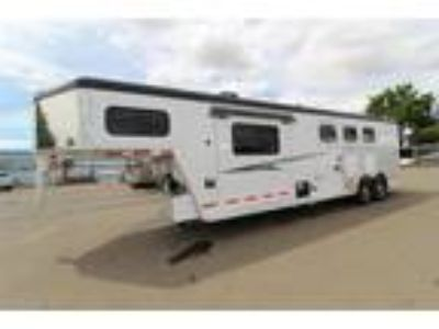 2019 Trails West Sierra 10x10 LQ with Slide Out 3 horses