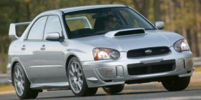 2005 Subaru Impreza WRX STi Base (White)