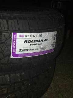 Never been used tires