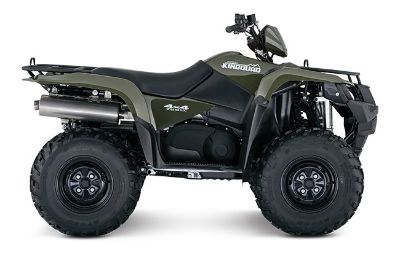 2018 Suzuki Motor of America Inc. KingQuad 750AXi Power Steering Utility ATVs Winterset, IA