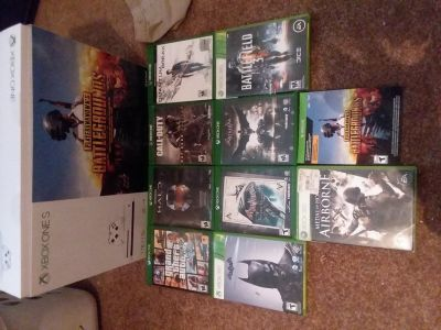 1TB Xbox One S + games & Xbox LIVE