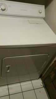 electric clothes dryer whirlpool