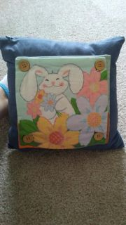Cute pillow with four covers.