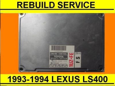 Sell REBUILD SERVICE 1993-1994 Lexus LS400 engine computer, 4.0L base, ecu, ecm motorcycle in Middle River, Maryland, United States, for US $70.00