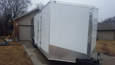 2017 stealth Liberty enclosed trailer