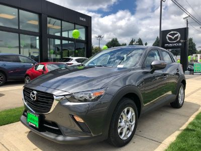 2019 Mazda CX-3 sport (Machine Gray)