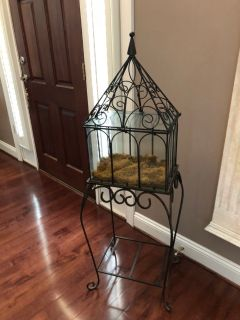 Wrought Iron/Glass. Steal of a Deal