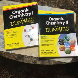 Organic Chemistry l For Dummies and Organic Chemistry ll For Dummies Buy one or Both Priced Separately