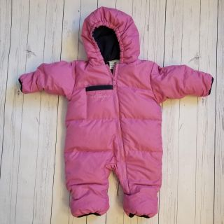 Columbia 12 month baby girl snowsuit puffer coat winter jacket pink
