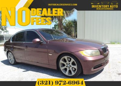 2006 BMW 3-Series 330i (Maroon)