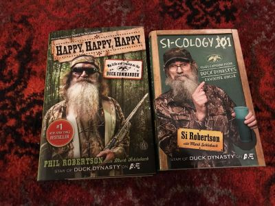 Books from Duck Dynasty characters
