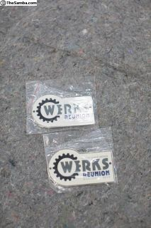 Werks 2015 Grill Badge