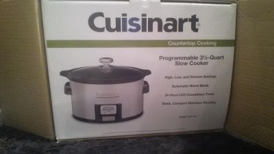 New in Box programmable slow cooker