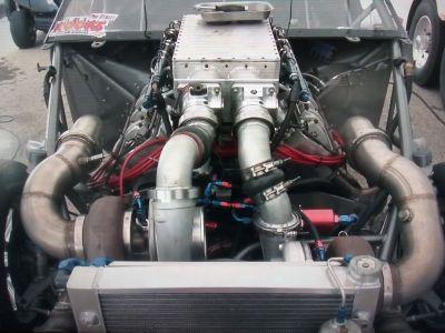 3500+HP Aluminum BBF 598 CI
